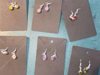 6 pairs earrings