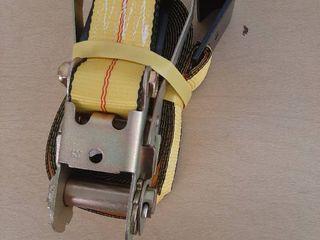 2  X 27  Flat Hook Ratchet Tie Down Strap