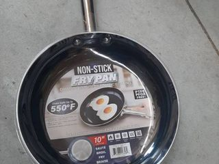 10  Non stick Fry Pan   Diamond Infused Ceramic Coating