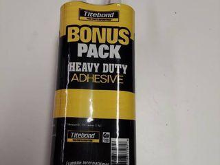 4 pack Titebond Pro Advantage Heavy Duty Adhesive 10 Oz  Each