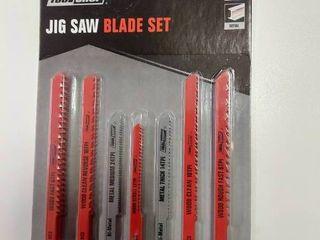 30 Piece U shank Jigsaw Blade Set   Wood   Metal Cutting