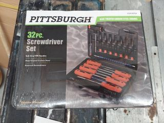 32 Piece Screwdriver Set
