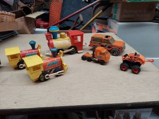 Vintage Toys   Fisher Price Trains and Metal Nylint Truck