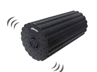 Uboway Electric Vibrating Foam Roller 4 Speed Rechargeable High Density Massager for Exercise  Yoga  Trigger Point  Cycling  Running  Stretching  Muscle Therapy