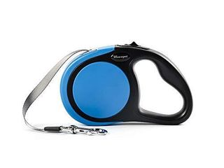 Generic Brands Retractable Dog leash  360Tangle Free Dog Walking leash for Small Medium Dog or Cat 10 ft Premium Nylon Tape Ribbon One Handed Control