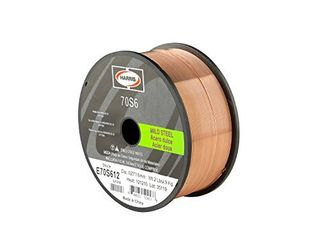 HARRIS E70S612 ER70S 6 MS Spool with Welding Wire  0 023 lb  x 2 lb