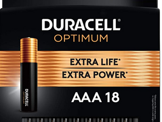 Duracell Optimum Aaa Batteries   lasting Power Triple A Battery   Alkaline Aaa B