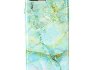 Velvet Caviar Compatible with iPhone 8 Plus Case iPhone 7 Plus Case   Cute Protective Phone Cases for Girls   Women  Green Marble