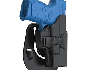 OWB Holster for Taurus PT111 G2 G2C G3 G3C  Tactical Polymer Paddle Open Carry Holster for Taurus Millennium G2 PT111 PT132 PT138 PT140 PT145 PT745 Not Pro  with Trigger Release Adjustable Cant  RH