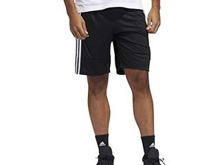 adidas Mens 3G Speed X Shorts Black White White M
