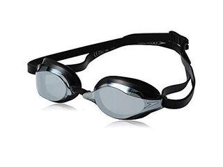 Speedo Unisex Adult Swim Goggles Speed Socket 2 0   Black Silver Mirrored