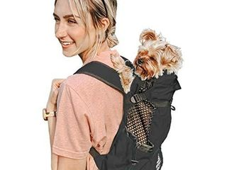 K9 Sport Sack   Dog Carrier Backpack for Small and Medium Pets   Front Facing Adjustable Dog Backpack Carrier   Fully Ventilated   Veterinarian Approved  Small  Air   Jet Black