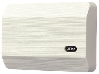 Broan NuTone lA11BG Wired Doorbell Kit  Decorative Two Note Door Chime for Home  2 38  x 8 13  x 5 5  Honey Beige
