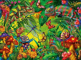 Buffalo Games   Tropical Forest   1000 Piece Jigsaw Puzzle