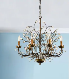 Copper Grove Antique Bronze Chandelier