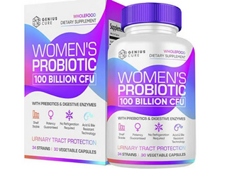 Genius Cure Women s Probiotic