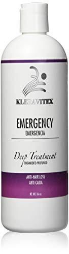 Kleravitex Emergencee Treatment For Hair   Polymedic Reconstructor   Perfect For Damaged and Colored Hair   Emergencia Capilar Tratamiento Reconstructor 16 oz