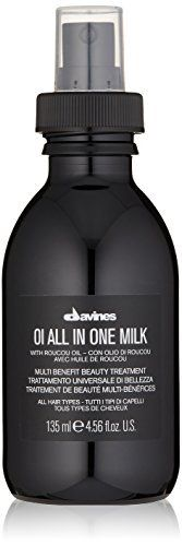 Davines OI All in One Milk   Hair Milk Spray   Powerful Hair Detangler   Heat Protection   Smoothes Frizzy Hair   4 56 Fl Oz