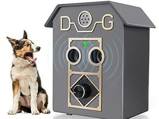 Kaier cat Anti Barking Device Bark Control Device with Ultrasonic to Stop Dog Bark Dog Barking Deterrents with Adjustable level Sonic Bark Up to 50 Ft