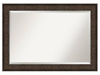 Ridge Bronze Bathroom Vanity Wall Mirror  Retail 107 49