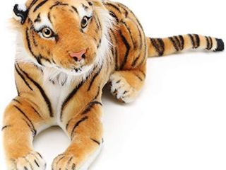 Arrow The Tiger   17 Inch  Tail Measurement Not Included  Stuffed Animal Plush Cat   by Tiger Tale Toys