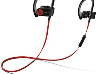 Beats by Dr dre Powerbeats2 Wireless In Ear Bluetooth Headphone with Mic   Black  Renewed