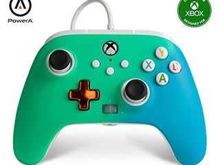 PowerA Enhanced Wired Controller for Xbox   Seafoam Fade  Gamepad  Wired Video Game Controller  Gaming Controller  Xbox Series X S  Xbox One   Xbox Series X  Only at Amazon