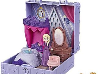 Disney Frozen Pop Adventures Elsa s Bedroom Pop Up Playset with Handle  Including Elsa Doll  Diary  Chair    Blanket Accessories   Toy for Kids Ages 3   Up
