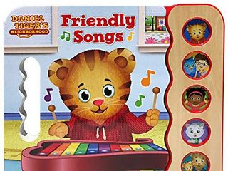 Daniel Tiger s Friendly Songs  Daniel Tiger s Neighborhood  Early Bird Sound Books 5 Button