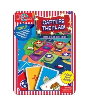 T S  Shure Capture The Flag Magnetic Game Tin