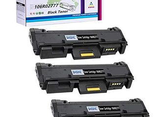 Compatible 106R02777 Black Toner Cartridge Replacement for Xerox 3215 106R02777 Toner  Worked for Xerox Phaser 3260DNI 3260DI 3260 3052 WorkCentre 3215NI 3225DNI 3225 3215   by BAISINE  3PK x Black