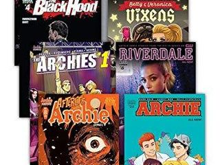 Archie Comic Book Value Packs a Riverdale  Sabrina The Teenage Witch and More Comic 10 Pack