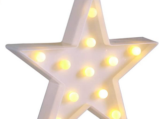 NOVElTY PlACE Party Play Fun  Star Marquee light