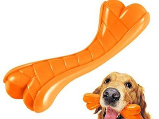 FURTOM Dog Toys for Aggressive Chewers  lifetime Replacement Guarantee  Dog Chew Toy  Interactive Indestructible Dog Toys for Small Medium Dogs Christmas Dog Toys