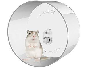Zacro Hamster Exercise Wheel   Wall Mounted Silent Running Wheel for Hamsters  Gerbils  Mice and Other Small Pets   8 7