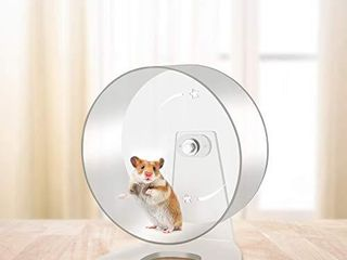 Zacro Hamster Exercise Wheel   8 7in Silent Running Wheel for Hamsters  Gerbils  Mice and Other Small Pet
