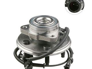 MOSTPlUS Wheel Bearing Hub Front Wheel Hub and Bearing Assembly 515050 Compatible for Aviator Mountaineer Explorer 4 Door with ABS 5 lug