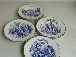9 New England Jolie Collector plates   4 Prints