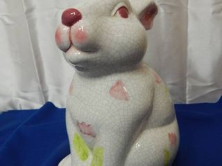 6518 ceramic bunny has crackled typ