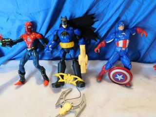 Superhero lot  3 ea