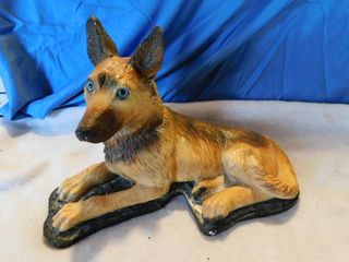Ceramic German Shepherd