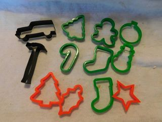 Cookie Cutters  12 ea