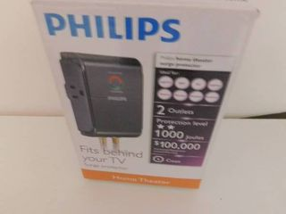 Phillips Home Entertainment Surge Protector