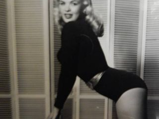 Ballet Pose of Jane Mansfield 11 x 14