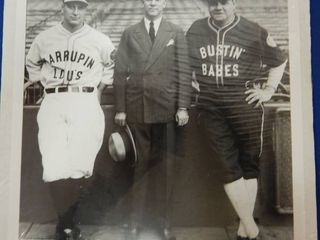 Amazing Photo of Babe Ruth  lou Gehrig   Christie Welsh  White