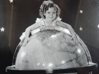 Adorable Vintage Shirley Temple Photo Re Print