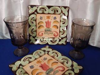 Decorative Plates   Goblets
