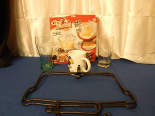 Misc  Kitchen lot w Jawhawk Mug
