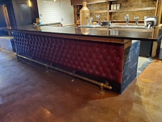 Black Stone Top Bar Counter