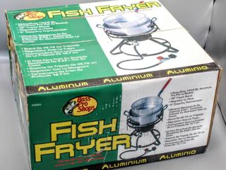 New Bass Pro Aluminum Fish Fryer